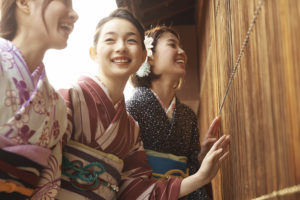 """""""着付け""""と""""きもの所作""""のお稽古ができるお教室。着物、伝統芸能も楽しめます。(大阪市内・八尾)"""