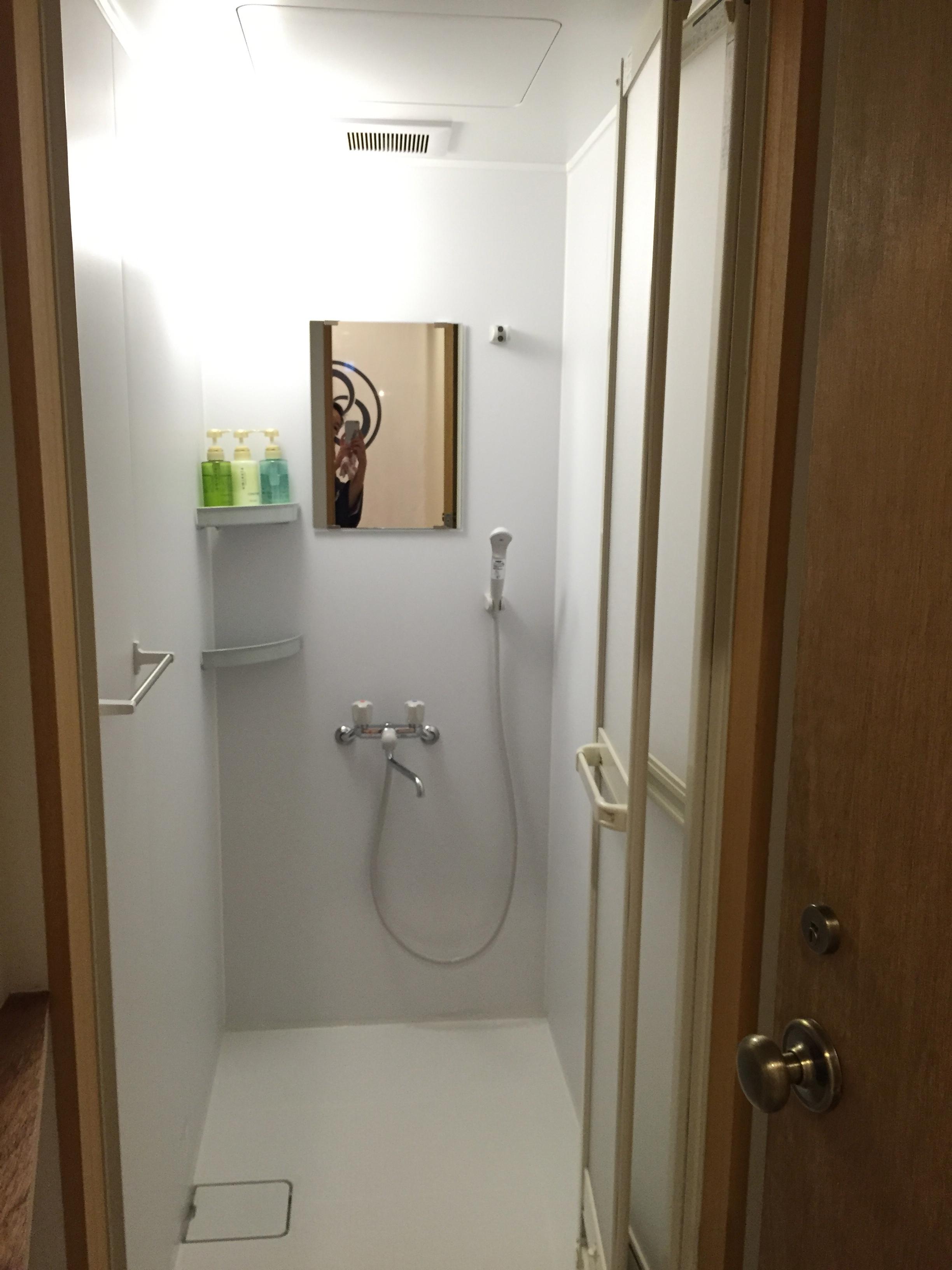 みつわ屋 シャワー