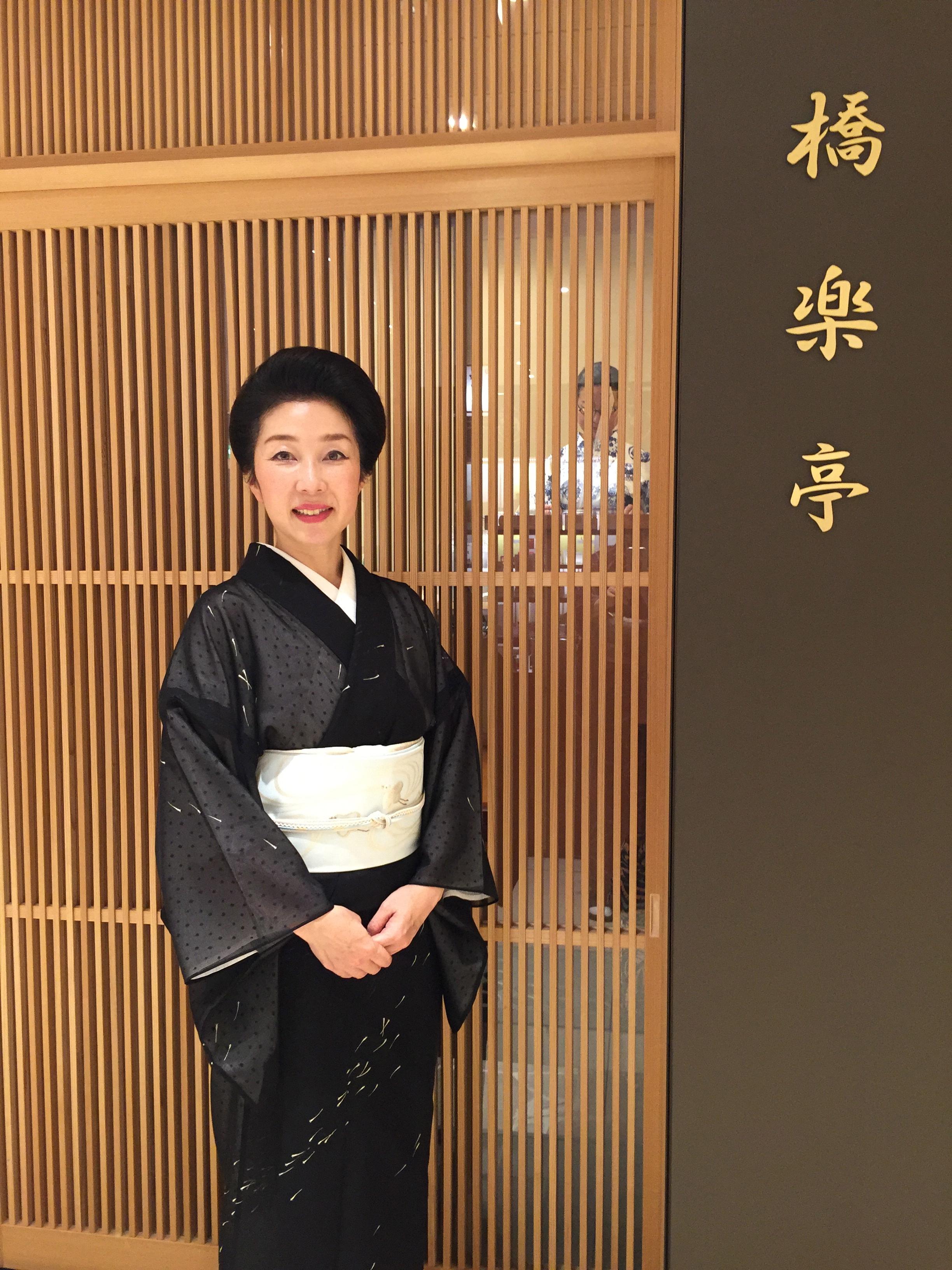 きもの所作講座をしてまいりました!東京・日本橋「お江戸日本橋夏稽古」