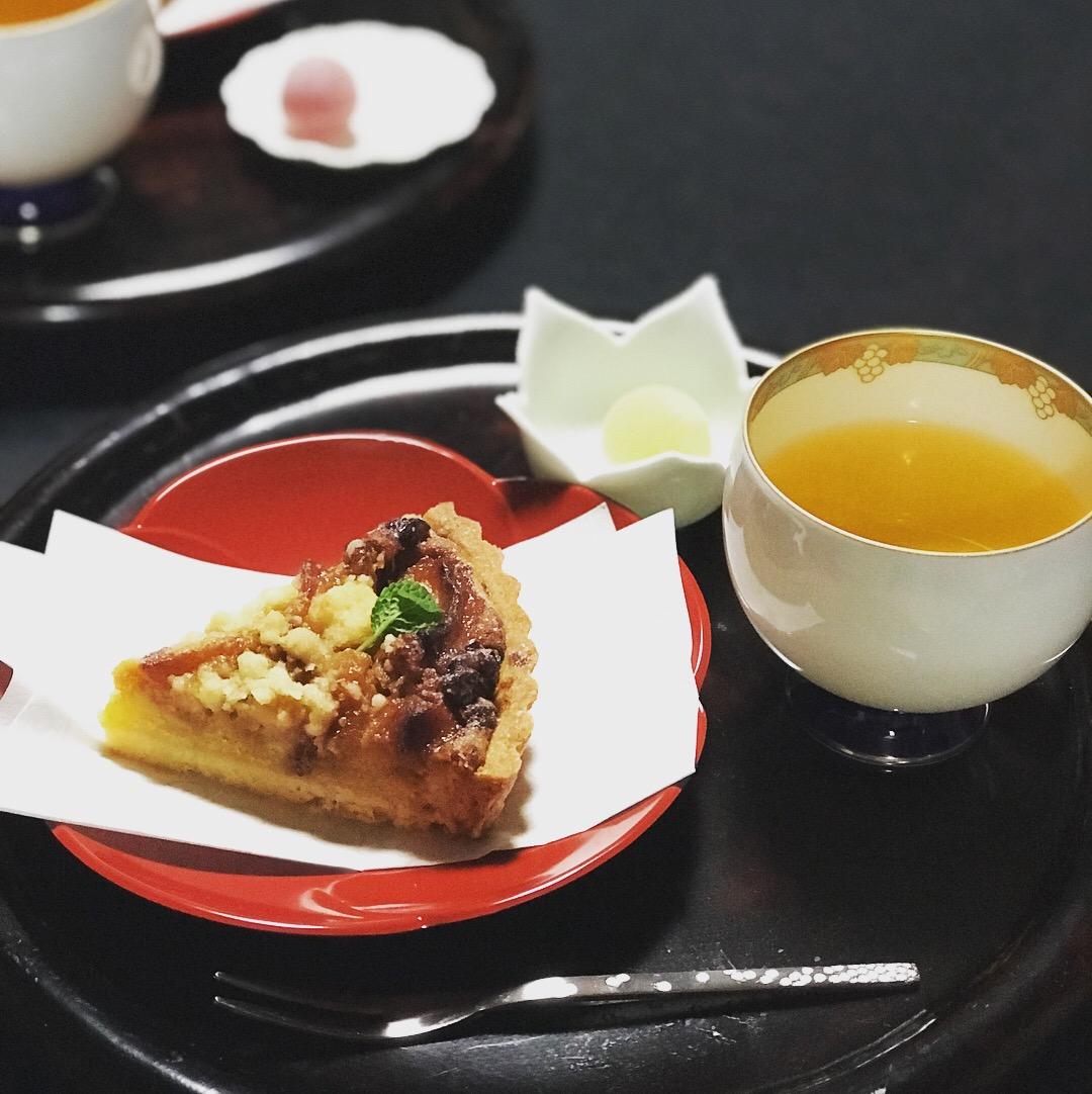 香蘭社 りんごのタルト ジャスミン茶