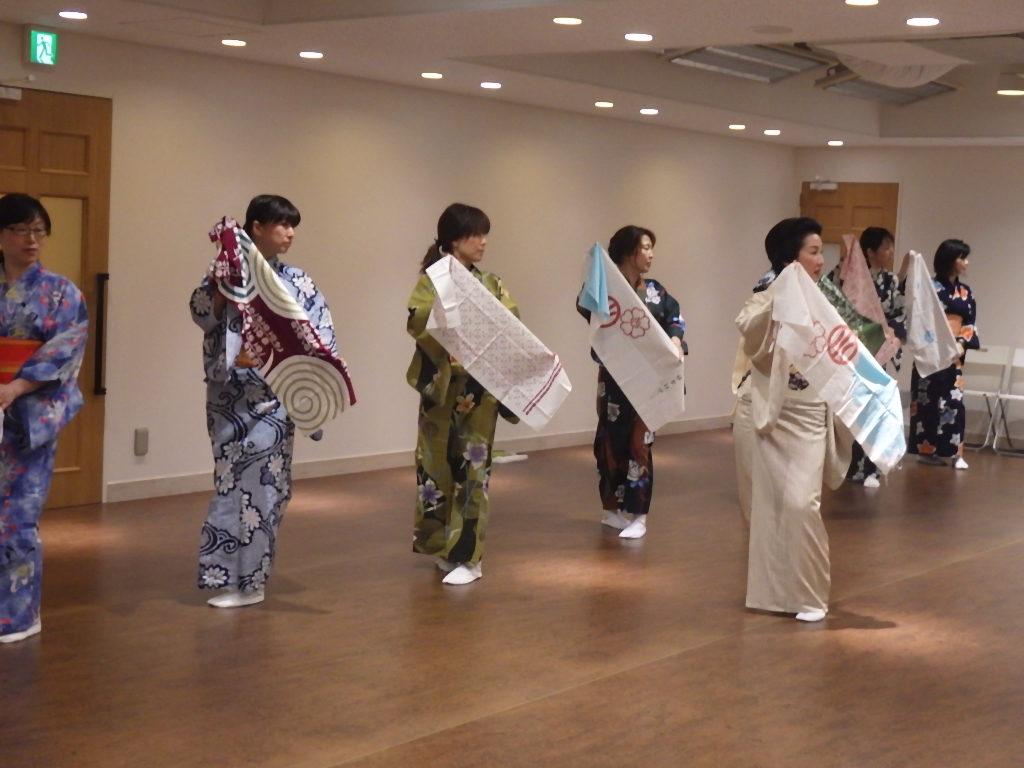 日本舞踊体験 きものと舞う
