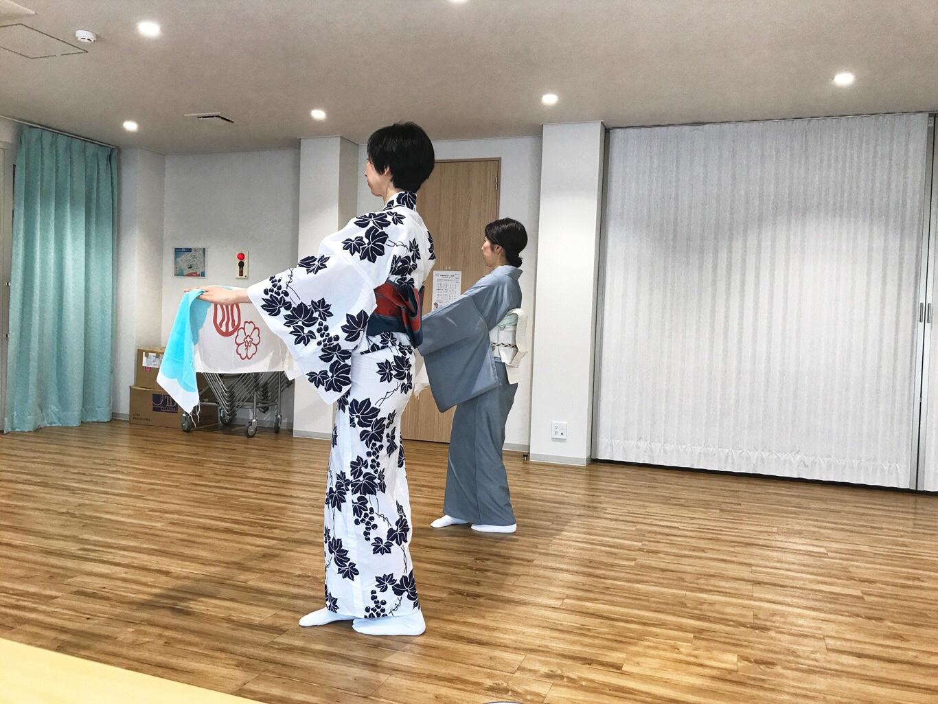 きものと舞う 日本舞踊 上方舞 レッスン
