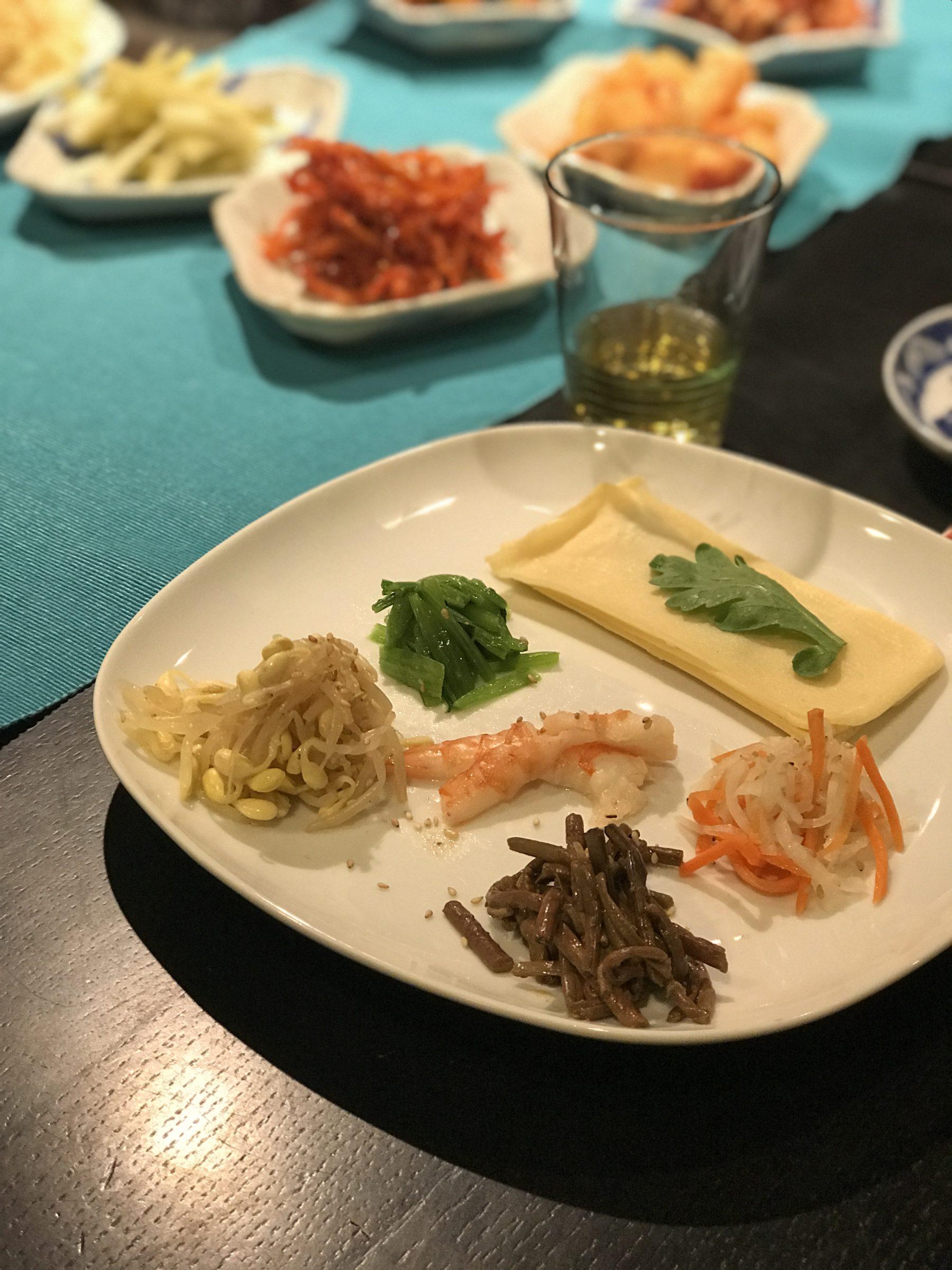 韓国宮廷料理はらはち 刻家 きものと舞う 忘年会
